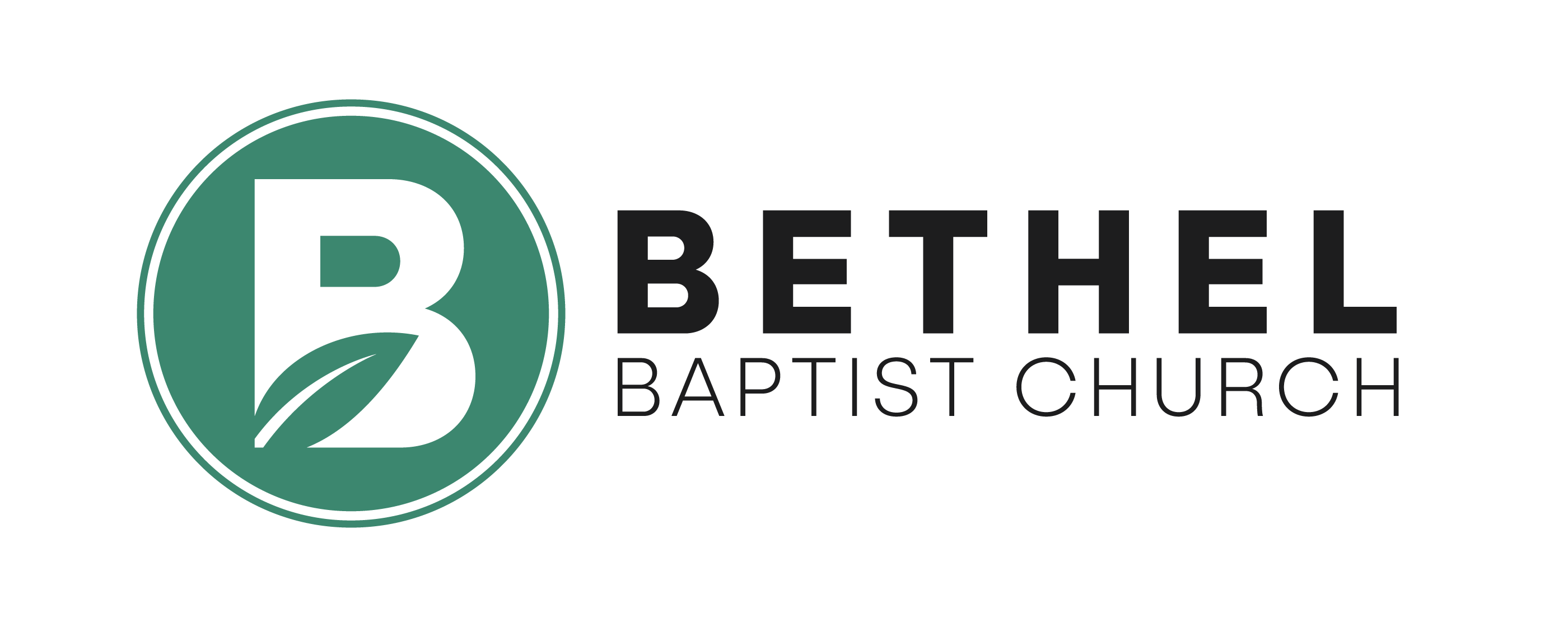Bethel Baptist Church Footer Logo